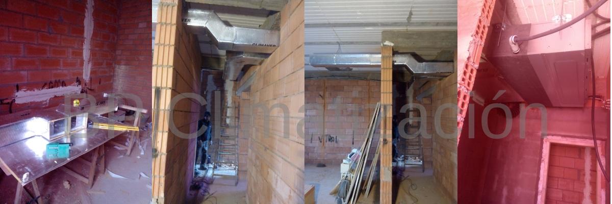 BP Climatización 976902922 Preinstalación e Instalación de aire acondicionado en vivienda chalet