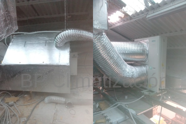 BP Climatización 976902922 Instalación de aire acondicionado en local ingeniería