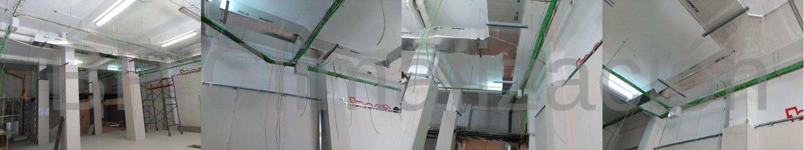 BP Climatización 976902922 Preinstalación de aire acondicionado en local parafarmacia