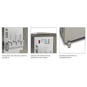 Máquina Helado Soft EURO-BLACK-MAGIC-BP Climatización-Tienda Online Maquinaria Hostelería y Alimentación. www.bpclimatizacion.com