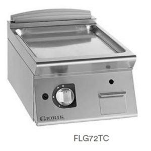 Fry Top Gas Giorik Línea 700 UNIKA-BP Climatización-Tienda Online Maquinaria Hostelería y Alimentación. www.bpclimatizacion.com