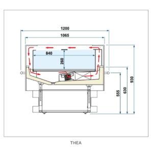 Isla-Refrigeración-ISA-Thea-BP Climatización-Tienda Online Maquinaria Hostelería y Alimentación. www.bpclimatizacion.com